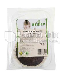 Produktabbildung: Beiker Schokoladen Muffin 75 g
