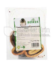 Produktabbildung: Beiker Schweinsöhrchen Schokolade 115 g