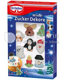 dr oetker winter zucker dekore kalorien kcal und inhaltsstoffe das ist drin. Black Bedroom Furniture Sets. Home Design Ideas