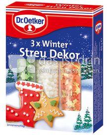 Produktabbildung: Dr. Oetker Winter Streu Dekor 66 g