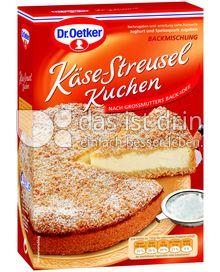 Produktabbildung: Dr. Oetker Käse-Streusel Kuchen 730 g