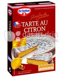 Produktabbildung: Dr. Oetker Tarte au Citron 370 g