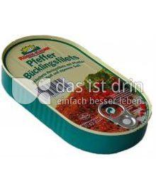 Produktabbildung: Rügenkrone Pfeffer Bücklingsfilets 200 g