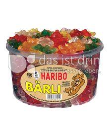 Produktabbildung: Haribo Bärli 1200 g