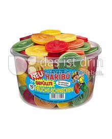 Produktabbildung: Haribo Gefüllte Frucht-Schnecken 1200 g