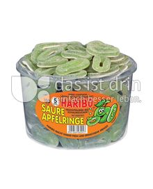 Produktabbildung: Haribo Saure Apfelringe 1200 g