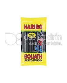 Produktabbildung: Haribo Goliath Lakritz-Stangen 125 g