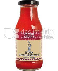 Produktabbildung: Jambo Africa Letaba Peppercherry Sauce 250 ml