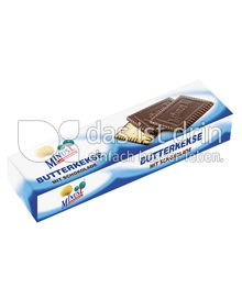 Produktabbildung: MinusL Laktosefreie Butterkekse mit Schokolade 125 g