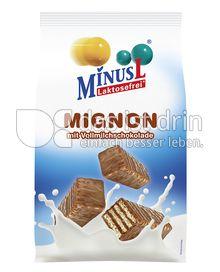 Produktabbildung: MinusL Laktosefreie Mignon mit Vollmilchschokolade 200 g