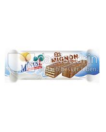 Produktabbildung: MinusL Laktosefreie Mignon mit Vollmilchschokolade 30 g
