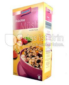 Produktabbildung: Knusperone Früchte-Müsli 750 g