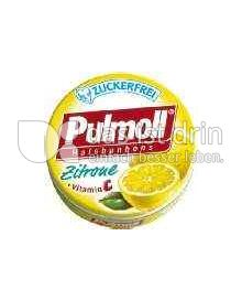 Produktabbildung: Pullmoll Halsbonbons Zitrone 20 g