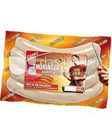 Produktabbildung: Zimbo Grillhelden Thüringer Rostbratwurst 400 g