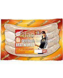 Produktabbildung: Zimbo Grillhelden Geflügel Bratwurst 300 g