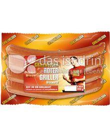 Produktabbildung: Zimbo Grillhelden Roter Griller Bratwurst 300 g