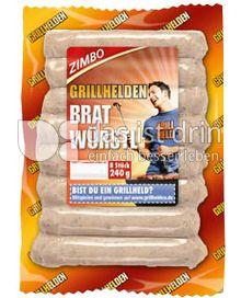 Produktabbildung: Zimbo Grillhelden Bratwürstl 240 g