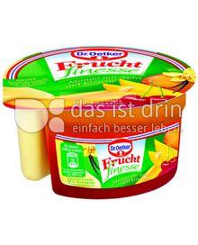 Produktabbildung: Dr. Oetker Frucht finesse Mango mit Apfel auf Kirsche 160 g
