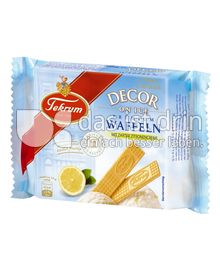 Produktabbildung: Tekrum Decor on Ice Premium-Waffeln Zitrone 50 g