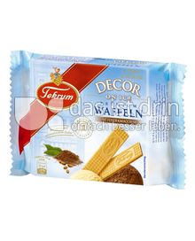 Produktabbildung: Tekrum Decor on Ice Premium-Waffeln Kakao 50 g