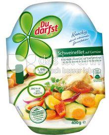 Produktabbildung: Du darfst Schweinefilet auf Gemüse 400 g