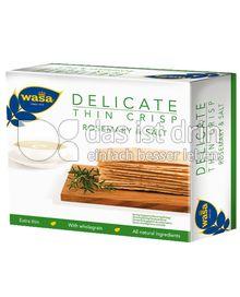 Produktabbildung: Wasa Delicate Thin Crisp Rosmarin & Salz 190 g