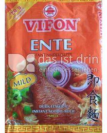 Produktabbildung: Vifon Ente Instantnudelsuppe 70 g