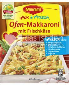 Produktabbildung: Maggi fix & frisch Ofen-Makkaroni mit Frischkäse 40 g