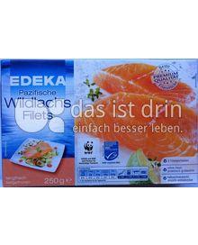 Produktabbildung: Edeka Pazfische Wildlachs Filets 250 g
