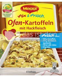 Produktabbildung: Maggi fix & frisch Ofen-Kartoffeln mit Hackfleisch 38 g