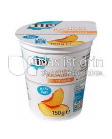 Produktabbildung: TiP Creme Joghurt Pfirsich 150 g