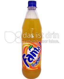 Produktabbildung: Fanta Orange 0,5 l