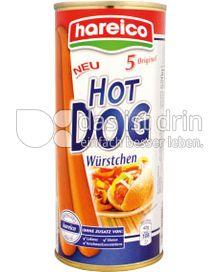 Produktabbildung: Hareico Hot Dog Würstchen 520 g