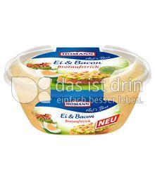 Produktabbildung: Homann Brotaufstrich Ei & Bacon 150 g