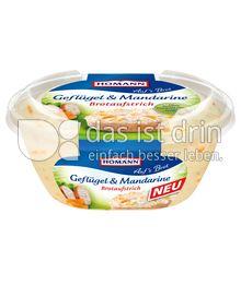 Produktabbildung: Homann Brotaufstrich Geflügel & Mandarine 150 g