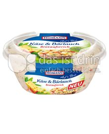 Produktabbildung: Homann Brotaufstrich Käse & Bärlauch 150 g
