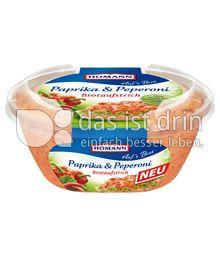 Produktabbildung: Homann Brotaufstrich Paprika & Peperoni 150 g