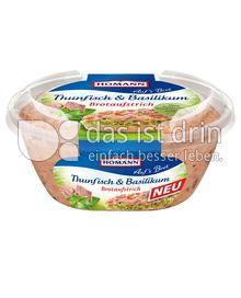 Produktabbildung: Homann Brotaufstrich Thunfisch & Basilikum 150 g