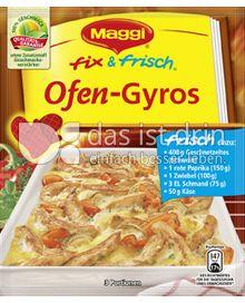 Produktabbildung: Maggi fix & frisch Ofen-Gyros 42 g