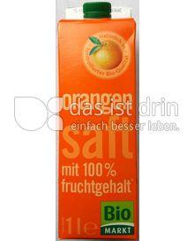 Produktabbildung: Bio Markt Orangensaft 1 l