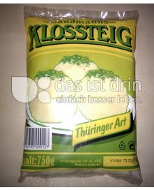 Produktabbildung: Landmanns Klossteig Thüringer Art 750 g