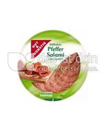 Produktabbildung: Gut & Günstig Delikatess Pfeffersalami 80 g