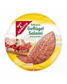 Produktabbildung: Gut & Günstig Geflügelsalami 80 g