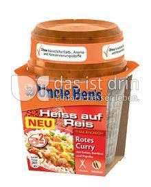 Produktabbildung: Uncle Ben's® Heiss auf Reis Thailändisch Rotes Curry 300 g