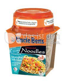 Produktabbildung: Uncle Ben's® Heiss auf Noodles Chinesisch Shanghai Süß-Sauer 290 g