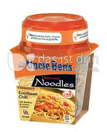 Produktabbildung: Uncle Ben's® Heiss auf Noodles Chinesisch Szechuan Chili 290 g