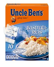 Produktabbildung: Uncle Ben's® Basmati-Reis 500 g