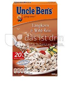 Produktabbildung: Uncle Ben's® Langkorn & Wild-Reis 500 g