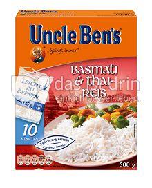 Produktabbildung: Uncle Ben's® Basmati & Thai-Reis 500 g
