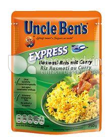 Produktabbildung: Uncle Ben's® Express Basmati-Reis mit Curry 250 g